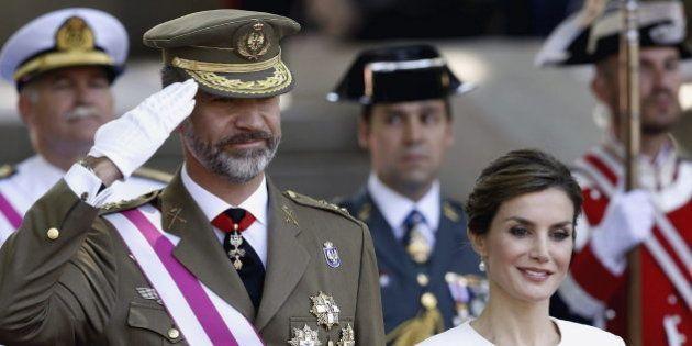 Los Reyes se estrenan en el Día de las Fuerzas Armadas
