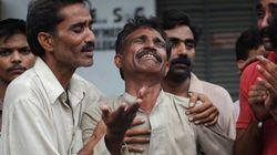 Unas 300 personas mueren en el incendio de una fábrica en Pakistán