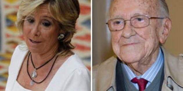 Esperanza Aguirre culpa a Santiago Carrillo de delatar a la mitad de los presos del