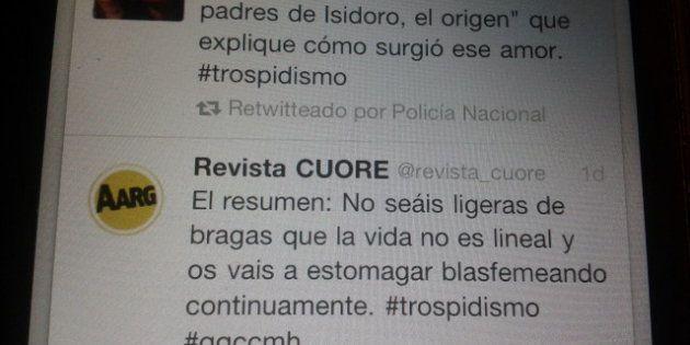 La Policía Nacional retuitea en su cuenta de Twitter varios mensajes sobre '¿Quién quiere casarse con...