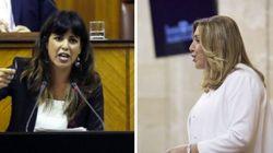 El tenso cara a cara entre Díaz y Rodríguez por la abstención