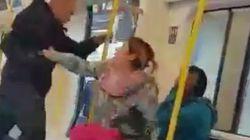 La heroica reacción de una mujer ante este ataque racista en el metro de