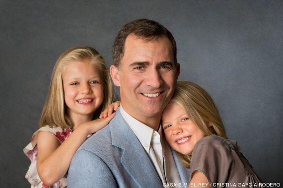 Felipe VI y las infantas: esta es la imagen que la Casa Real quiere transmitir del nuevo rey