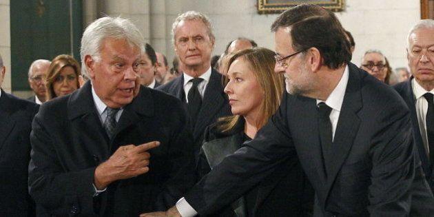 González pide a Rajoy que se aparte para evitar terceras