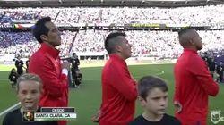 Doble pifia con los himnos en la Copa América