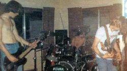 Publica las fotos del primer concierto de Kurt Cobain... sin