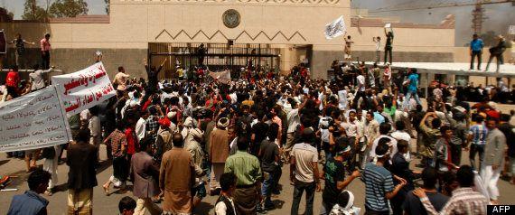 Ataques a las embajadas de EEUU en Yemen y Egipto en protesta por la película anti-Mahoma