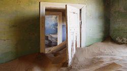 La antigua ciudad minera que está siendo devorada por el desierto
