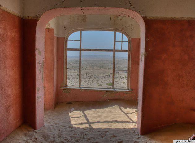 Kolmanskop, la ciudad minera africana abandonada y sepultada por el desierto