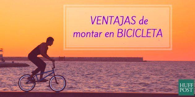 6 ventajas de montar en bicicleta: más atractivo y más