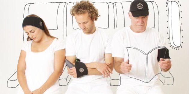 Napwrap, el gadget multiusos para dormir en el