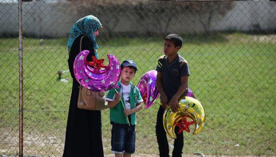 11 imágenes de Gaza durante el alto el fuego
