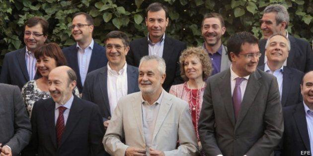 Los barones del PSOE aprueban por unanimidad su propuesta de reforma federal del