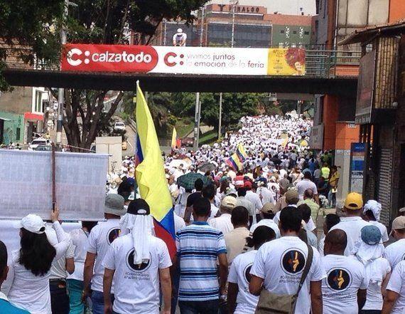 Una marcha contra la