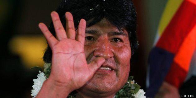 Evo Morales ofrece asilo a Edward Snowden