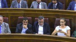 El 'entusiasmo' de Ciudadanos al votar 'sí' a Rajoy