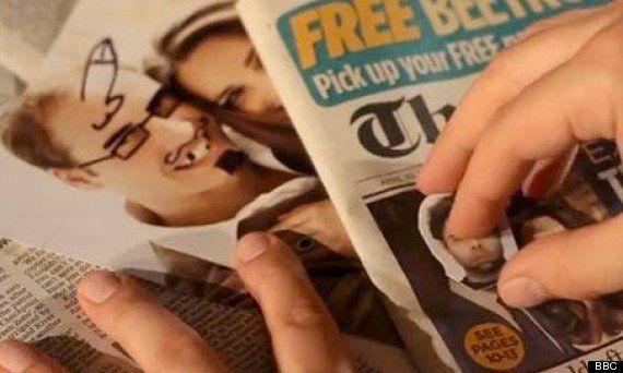 La BBC pide perdón por esta foto del príncipe Guillermo con un pene dibujado en su