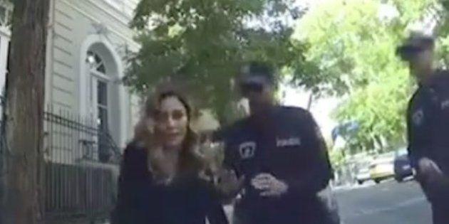 La 'detención' de Blanca Suárez tras discutir en plena calle con dos