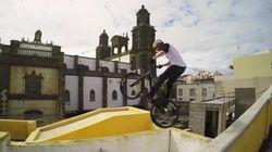Salta por los tejados de Las Palmas en bici y con una