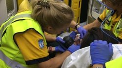 Una mujer da a luz... en el Metro de
