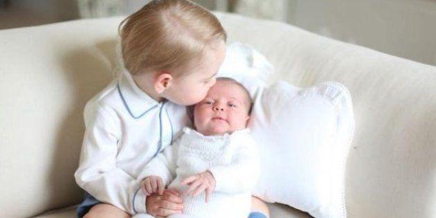 Catalina fotografía a sus hijos, juntos por primera