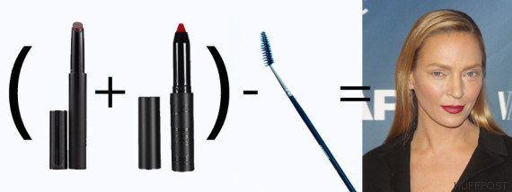 El verdadero motivo del cambio de Uma Thurman: maquillaje