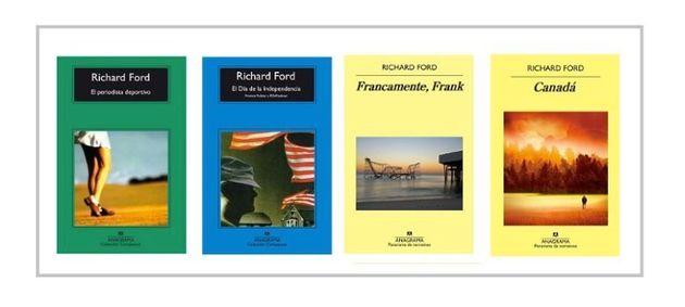 Fotorrelato de Richard Ford con lectores, bibliotecarios y estudiantes de