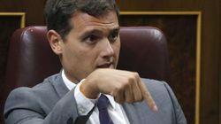 Rivera critica al gobierno de PP un día después de apoyar la investidura de