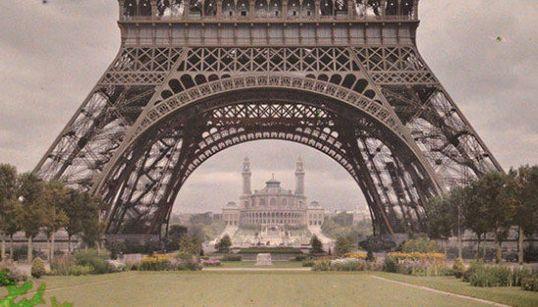 París como nunca lo has visto: insólitas fotos a color de hace 100