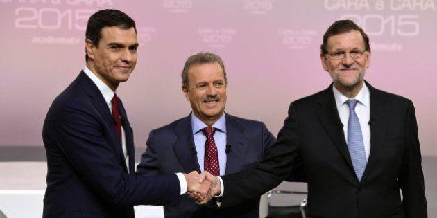 Directo: cara a cara entre Rajoy y Pedro