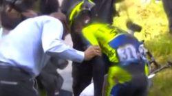 Contador dice adiós al