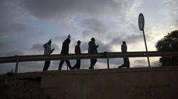Un millar de inmigrantes intenta sin éxito entrar en