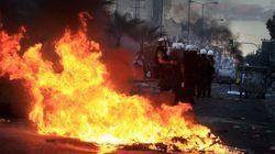 Disturbios en Grecia tras el asesinato de un rapero a manos de un
