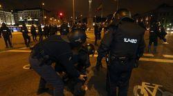 Cargas en Madrid tras la marcha en apoyo al barrio de