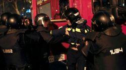 Concentración en favor de Gamonal: 14 detenidos en