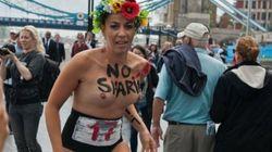 Desnudas contra el velo islámico en los Juegos
