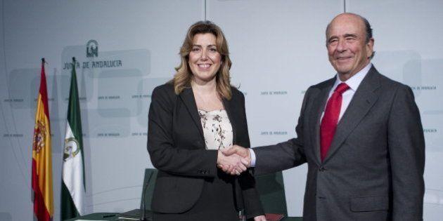 Botín concede un crédito de 500 millones a Andalucía y sus