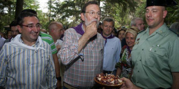 Mariano Rajoy veranea ya en