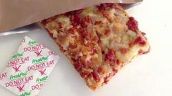 'Pizza eterna': un invento que podrías comer tres años