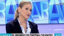 Cristina Cifuentes acusa a IU de buscar el
