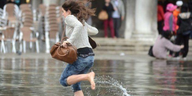 Aqua Alta: Venecia ya está inundada por el mar