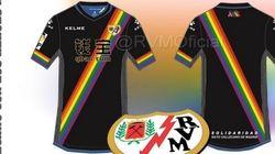 El Rayo Vallecano lucirá la bandera arcoíris en su segunda