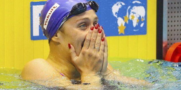 Mireia Belmonte logra un nuevo oro con récord del mundo en 400