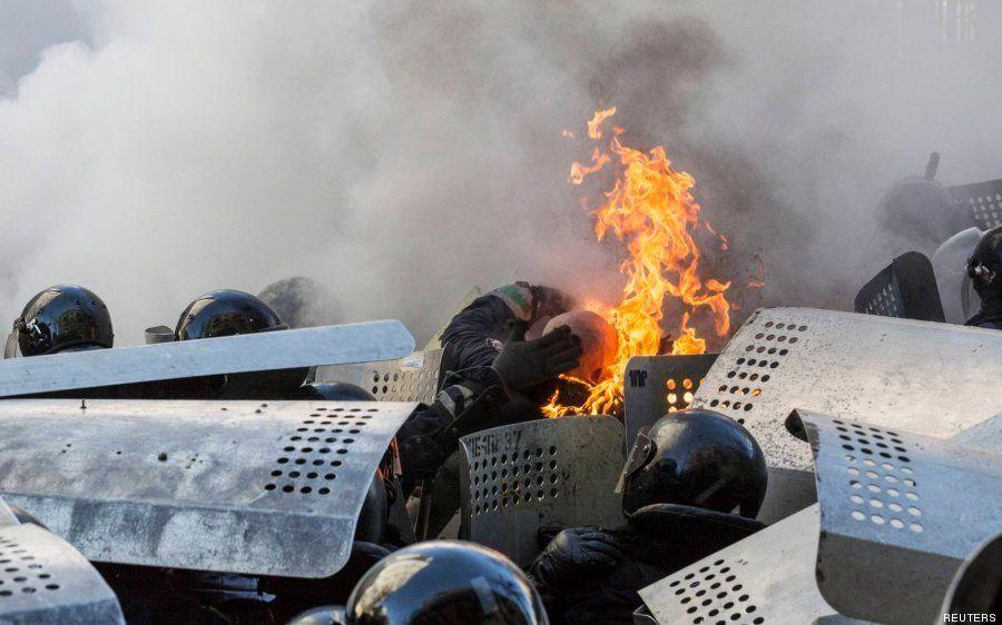 Las imágenes de los enfrentamientos en Ucrania que deberías