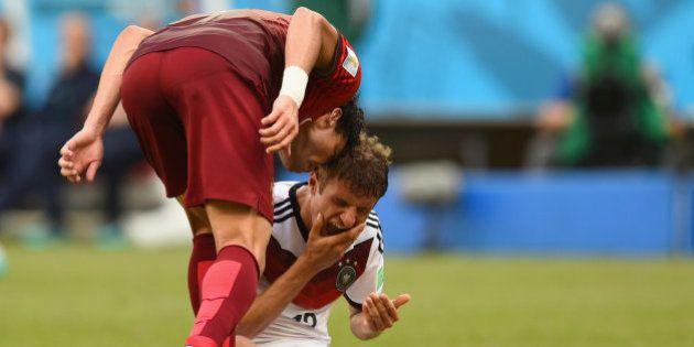 Expulsión de Pepe en el primer partido de Portugal en el Mundial