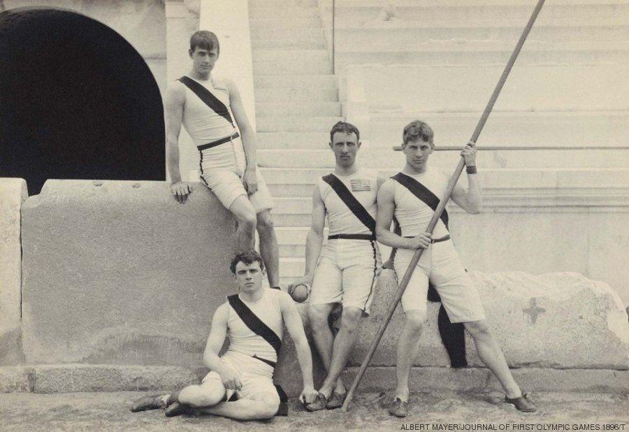 Imágenes 'vintage' de los primeros Juegos Olímpicos Modernos de