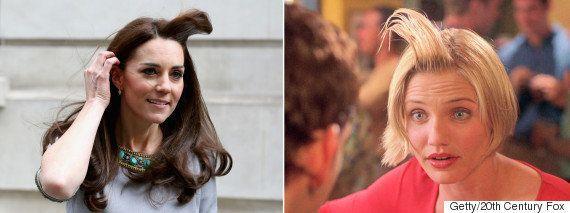 Kate Middleton protagoniza un momento 'Algo pasa con