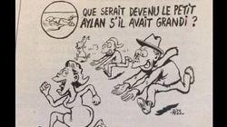 'Charlie Hebdo' indigna con su sátira sobre lo que Aylan hubiese sido de