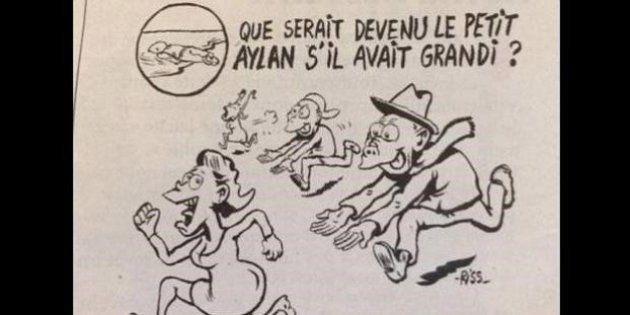 Polémica con 'Charlie Hebdo' por bromear en su portada con lo que hubiese sido Aylan de