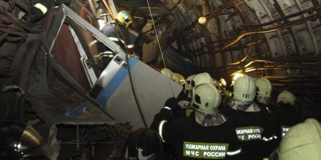 Dos técnicos del Metro de Moscú, detenidos por su responsabilidad en el accidente que dejó 22